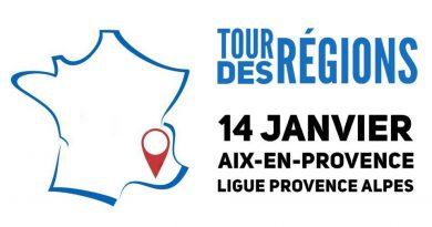 Tour des Régions – Aix en Provence le 14 Janvier